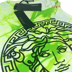 Brand New Versace Tie-Dye Medusa T-Shirt